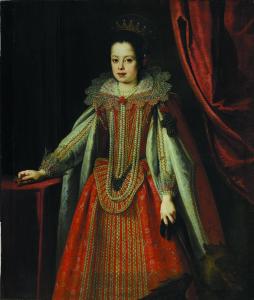 Vittoria della Rovere fanciulla in guisa di Santa Margherita 1628 Firenze, Museo di Casa Martelli