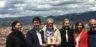 Jan Fabre riceve dal sindaco di Firenze Dario Nardella le chiavi della città