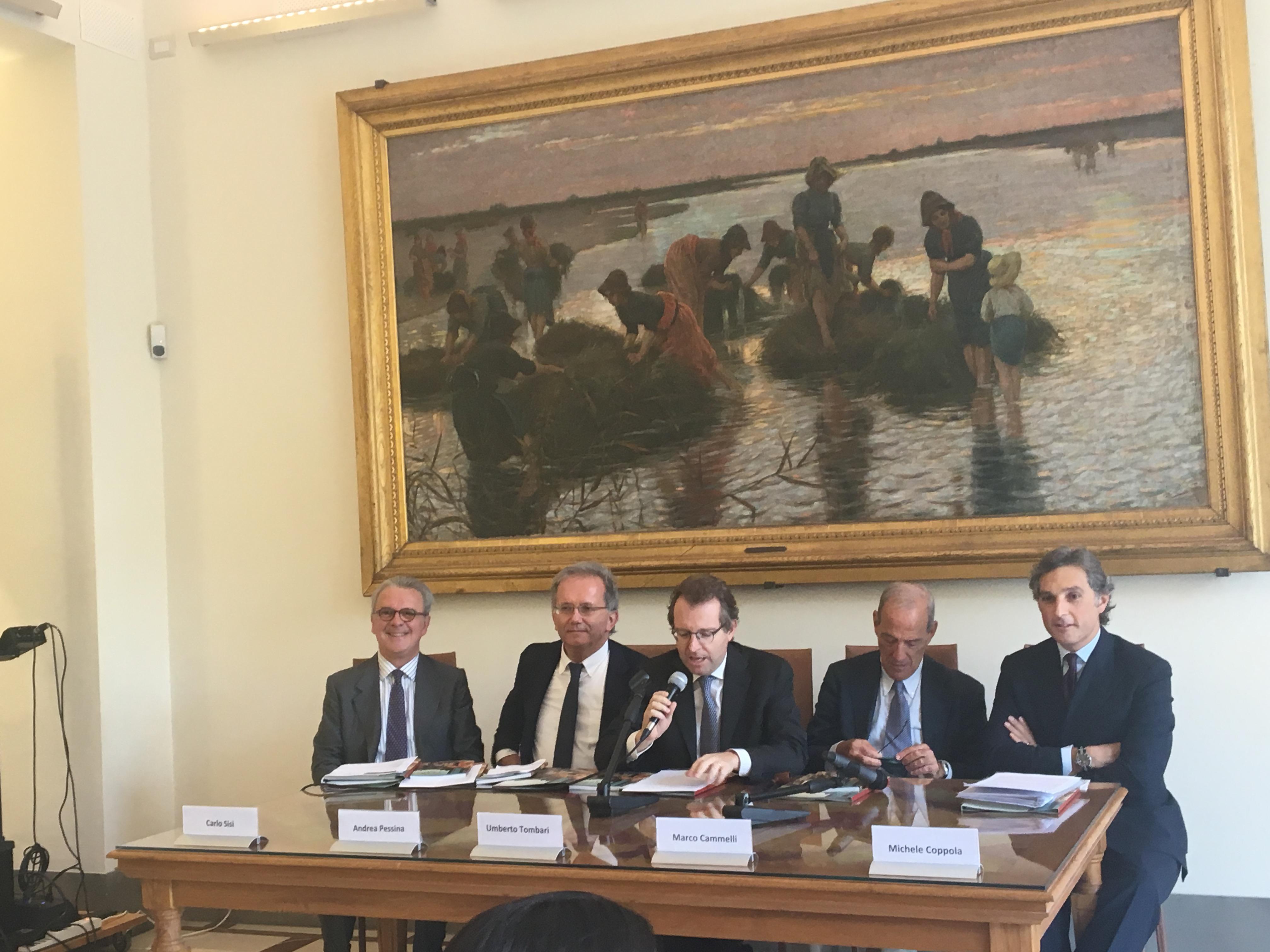 Conferenza stampa In Collezione - Ente Cassa di Risparmio di Firenze