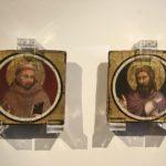 """Giotto di Bondone """" San Francesco"""" e """"San Giovanni BAttista"""" Ente Cassa di Risparmio di Firenze"""