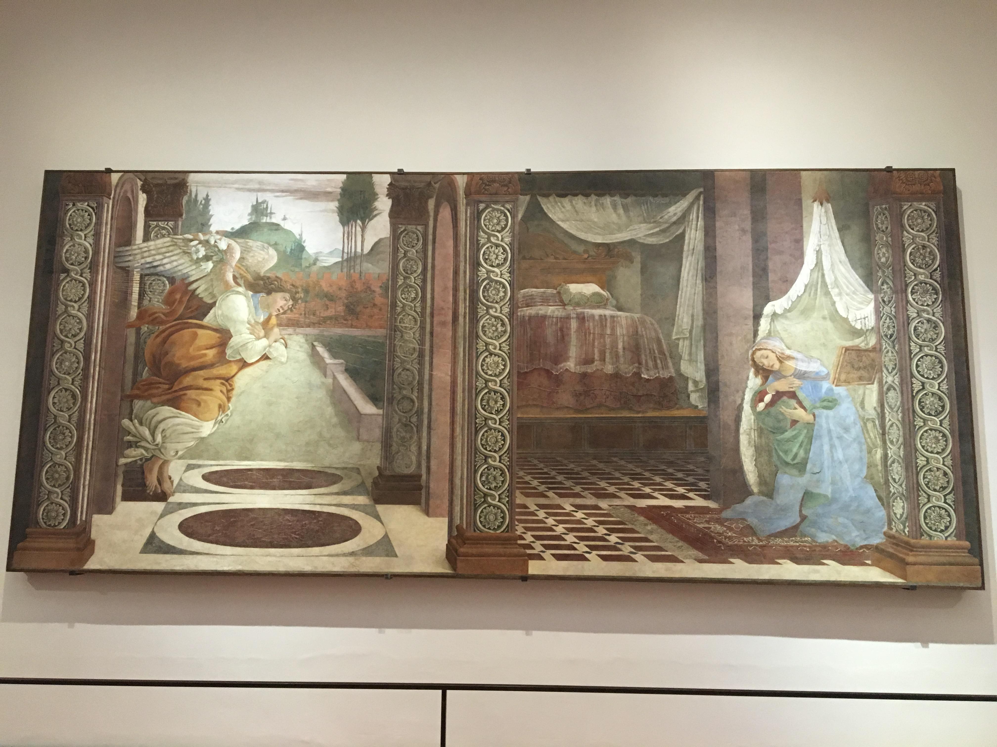 Annunciazione di San Martino alla Scala - Sandro Botticelli