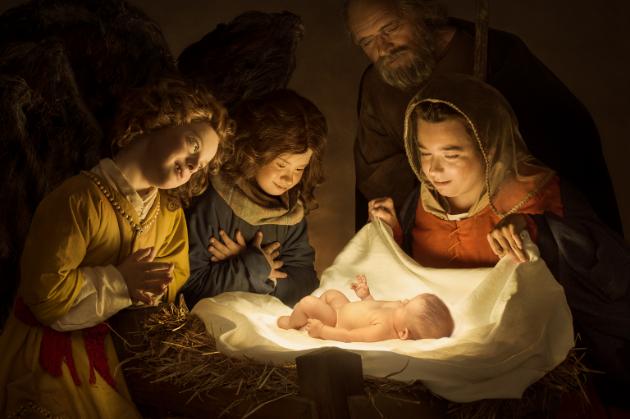 Adorazione del Bambino - foto di Leonardo Baldini