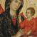 Maestro di Badia a Isola, Madonna in trono col Bambino, particolare, fine XIII secolo, collocazione Museo Diocesano