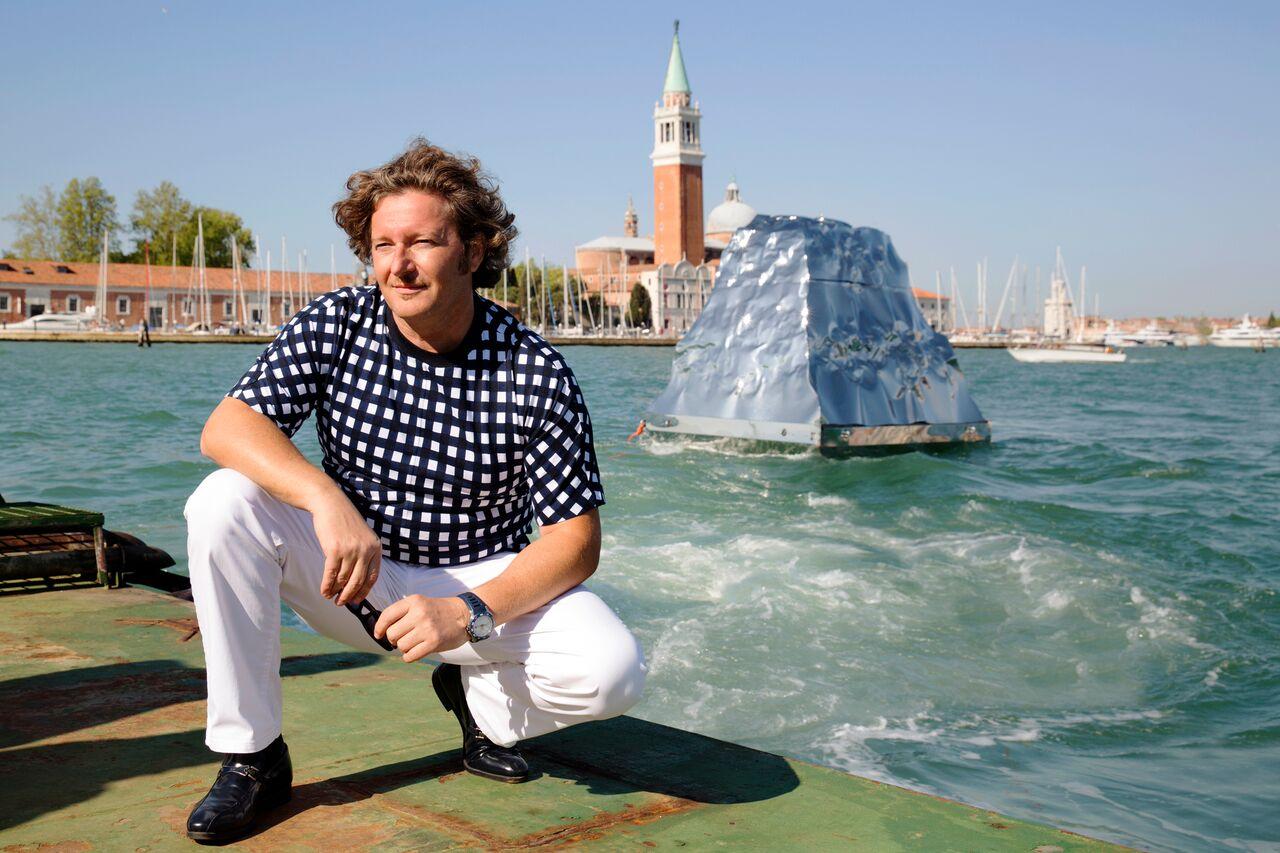 "Helidon Xhixha, ""IceBerg"", La Biennale di Venezia 2015"