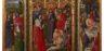 Nicolas Froment, Episodi della Vita di Cristo e Resurrezione di Lazzaro, olio su tavola, Firenze, Gallerie degli Uffizi
